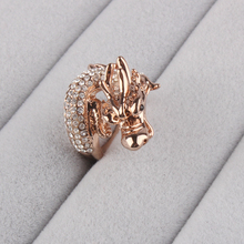 Factory direct sell gold plating dragon ring