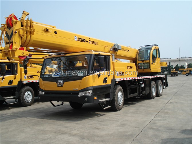 25t lifting truck crane famous brand as good as Liebherr