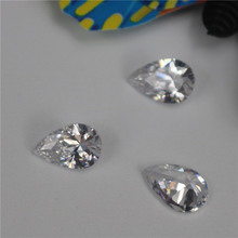 2016 New Fashion jewelry stone teardrop zircon diamond loose