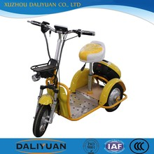 tricycle with wagon electric adult tricycle for lady and student