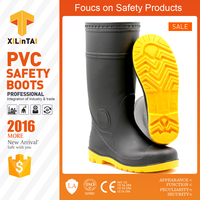 black safety boots steel toe footwear