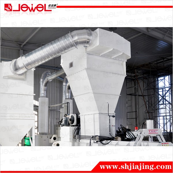 CE certified factory design JEWEL Paper trimming waste discharge system