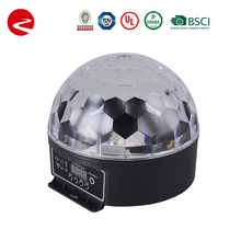 6 color magic ball/crystal led stage light party light