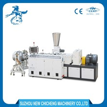 CE ISO approved high performance plastic pvc pipe extruder making machine