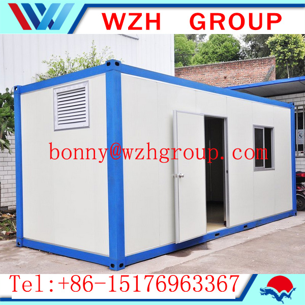 container house prefabricated steel building with 2 floors