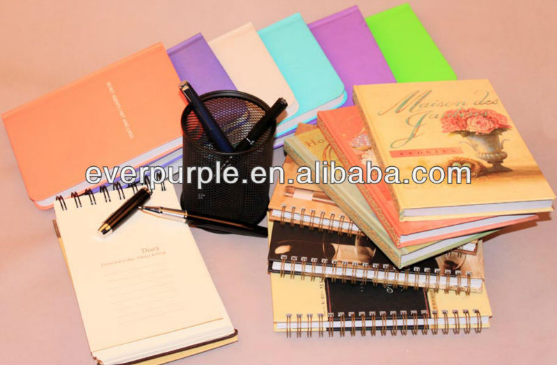 Professional Spiral Notebook, Hardcover Notebook and Diary Notebook