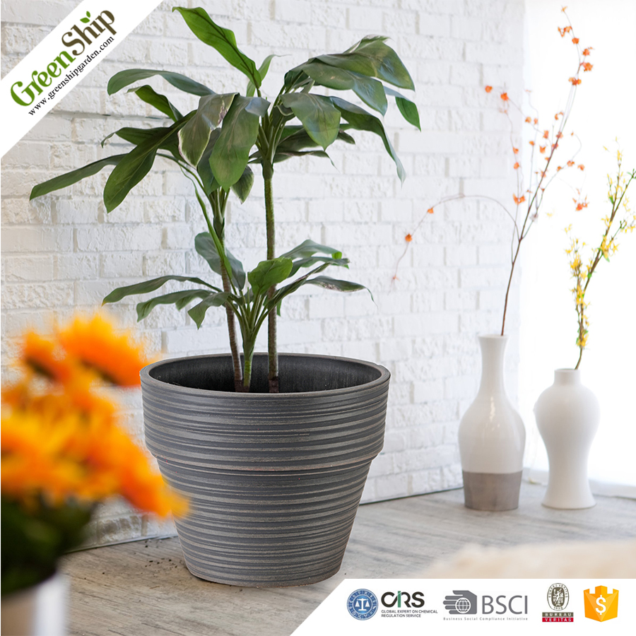 Indoor Pot Hydroponic Clay 31cm Decorate Planter