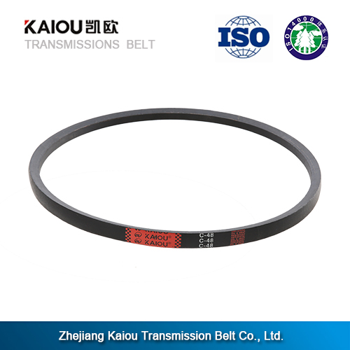 Small order black power transmission round rubber drive belts