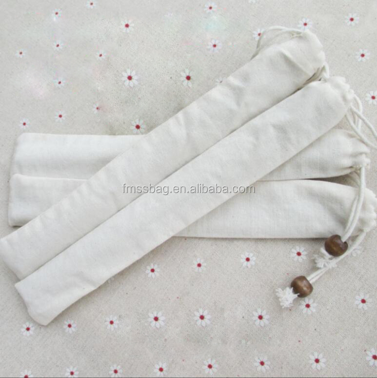 Portable Set Of Tableware Cotton chinese Style Chopstick Bag
