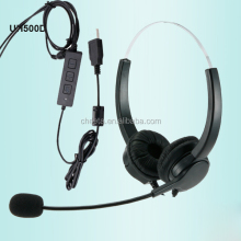 cheap headset with microphone call center rj11 headset usb