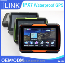 Motor navigator bluetooth gps module 4.3inch touch screen low price gps module