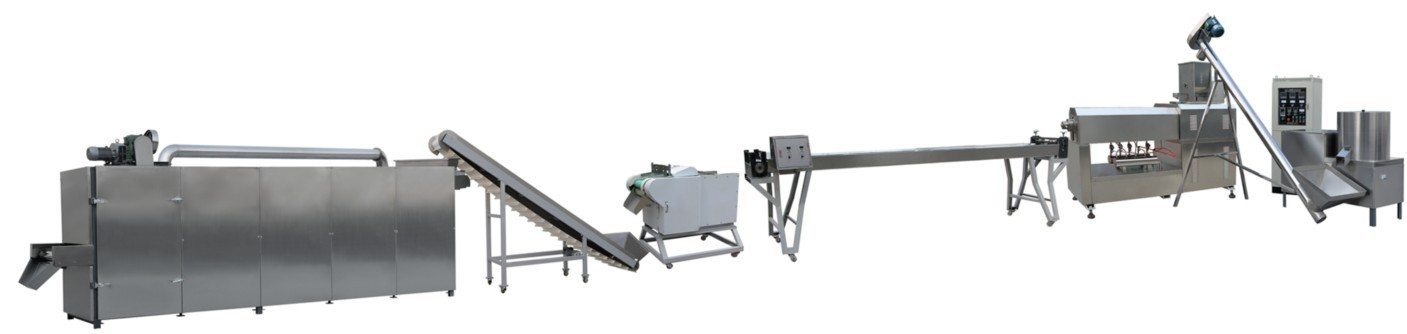 DP100 single screw chewing pet food /dog food machine /making plants/production line