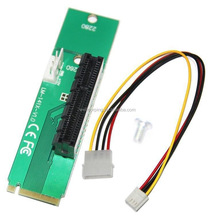 2017 Pcie X4 to M2 (NGFF) adapter m.2 to pcie converters