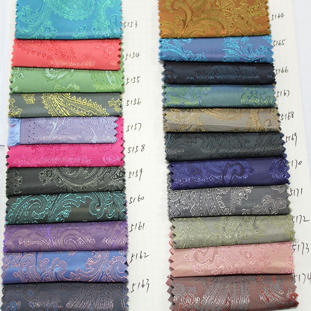 High Quality Polyester Viscose Jacquard Suit Lining Fabric