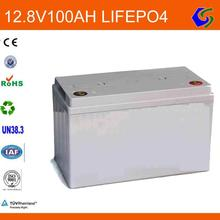 deep cycle 12v 100ah lithium ion lifepo4 battery pack