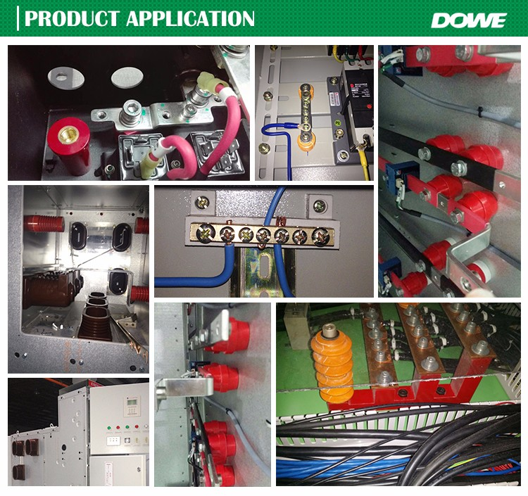 CE Rohs 8D3 middle voltage electrical application busbar support