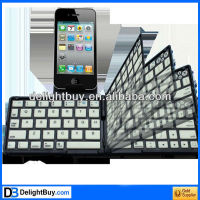 Bluetooth 3.0 Folding Keyboard for New iPad (iPad 3) / iPad 2 / iPhone 4 & 4S / Tablet PC, Operating Distance: 10m