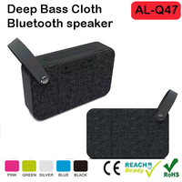 high-powered portable Bluetooth,powerful stereo sound durable fabric and rugged Speakers with echo-cancelling speakerphone