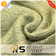 Wholesale 100% acrylic fibers coarse knitting jacquard fabric