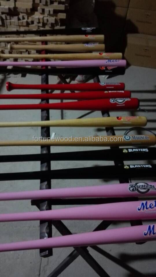 18 inch mini plain baseball bat wood
