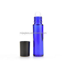 10ml Roll on Refillable Glass Perfume Bottle With Plastic Roller Ball