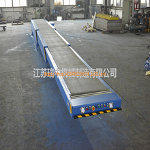 Best selling width concrete conveyor truck trailers loading and unloading telescopic belt to use vacuum dryer