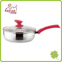 Hot selling Induction Cookwares Stainless Steel Fry Pan, cooking pot