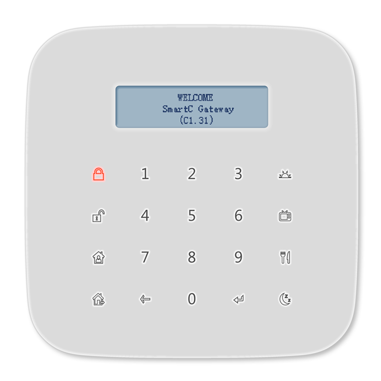 GW-9324 SmartC wireless smart home system gateway GSM alarm