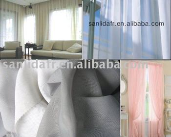 Sanlida 100% polyester Fire Resistant fabric for sheer