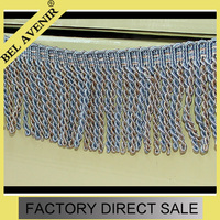 Accessory Home Textile 100% Rayon Bullion Tassel Fringe for Curtain