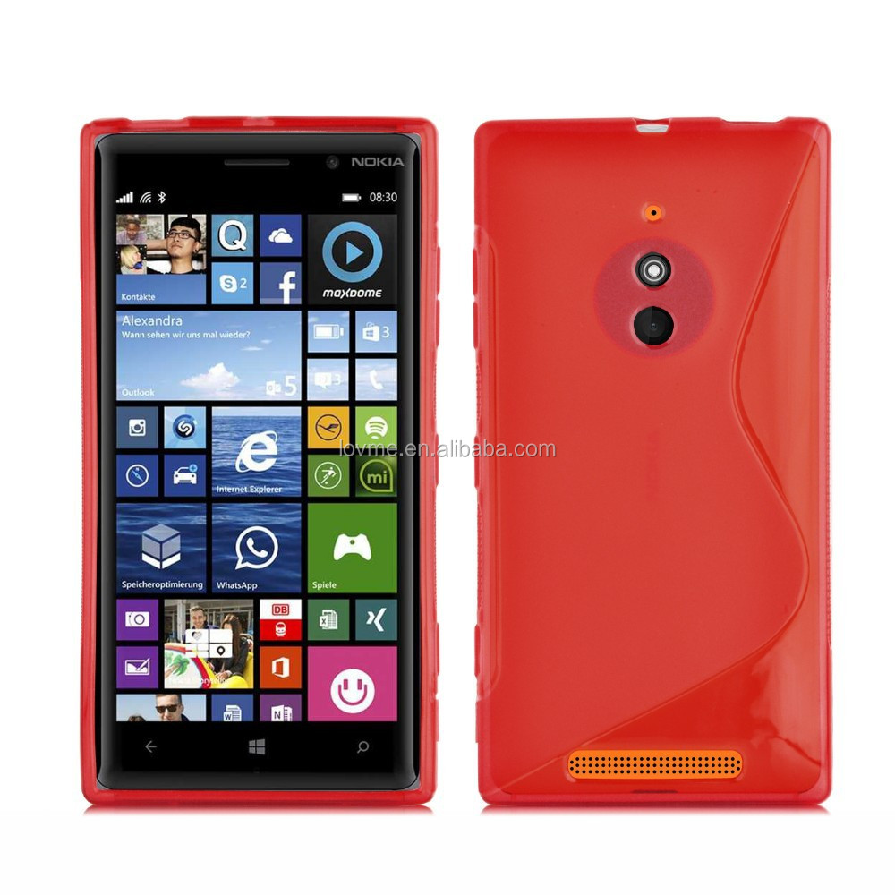 for nokia lumia 830 x line shape gel case