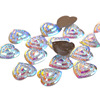 AB Shell Gemstone Beads 30mm Sew