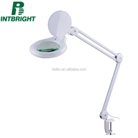 Factory price High illuminated Table Clamp Magnifier Lamp