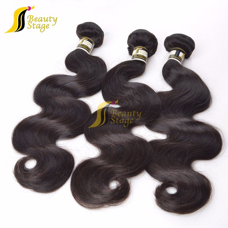 Top grade fashion salt and pepper human hair extensions, cheap hair extension human hair