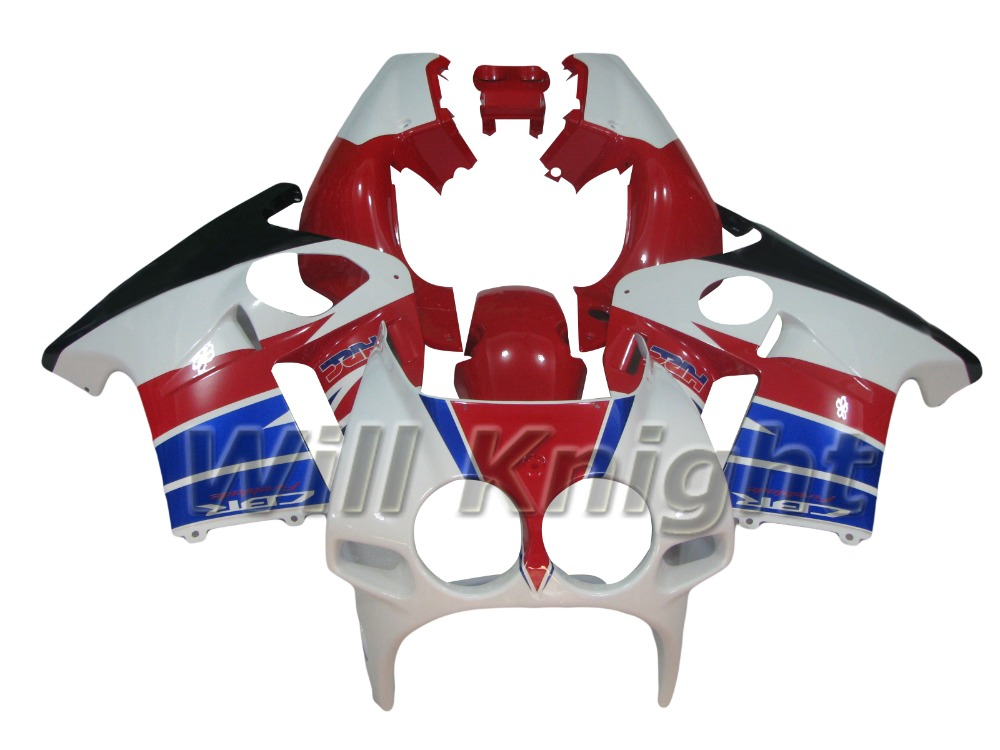 Injection ABS Plastic Motorcycle Fairings For Honda CBR250RR MC19 88-89 1988 1989 Fairing Kits Sport Bikes