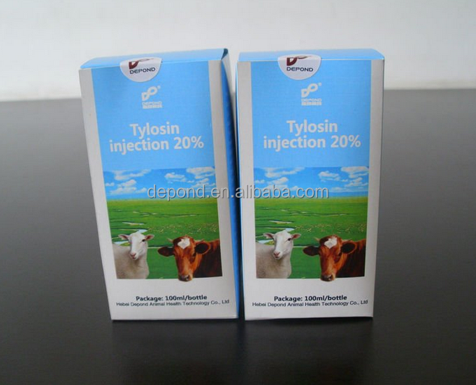 Veterinary Medicine 5% 10% 20% Tylosin Tartrate Injection