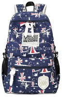 china suppliers new fashion laptop backpack uk printed back bag