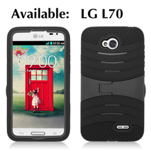 For LG Accessories,For LG l70 Shock Wave Hybrid Kickstand Cell Phone Covers New Models