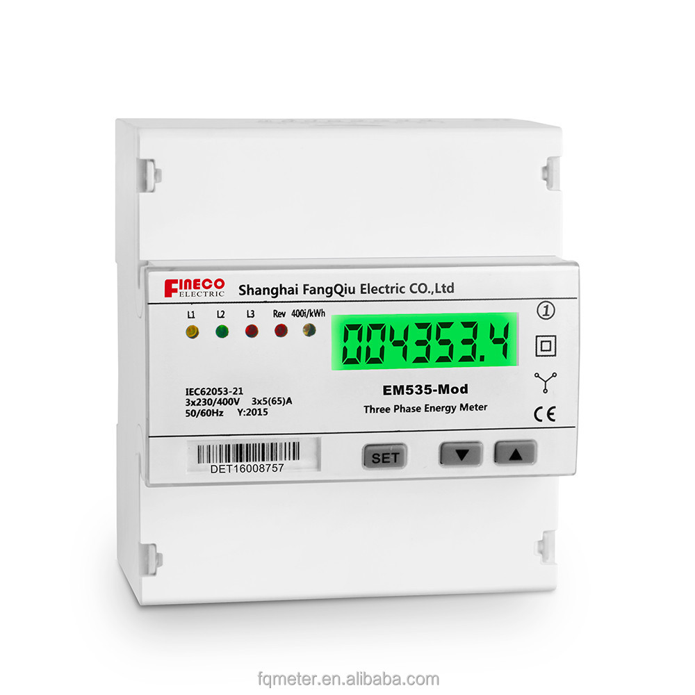 EM535-Mod 5(65)A three phase kill a watt meter