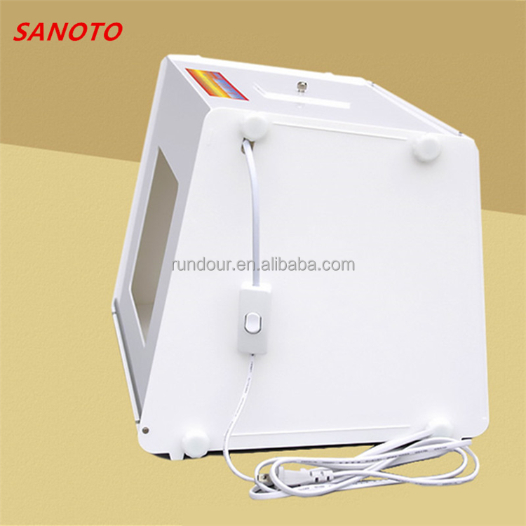 High quality Mini photo light box studio SANOTO MK30 + MK40 + MK45+MK50 Mini Kit Photo Photography Studio Light Box Softbox