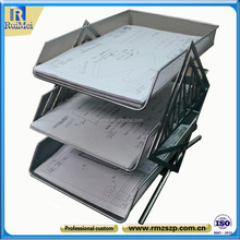 Table top Customized Metal File Rack for Storage Files