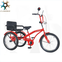 Factory whosale cabin adult tricycle