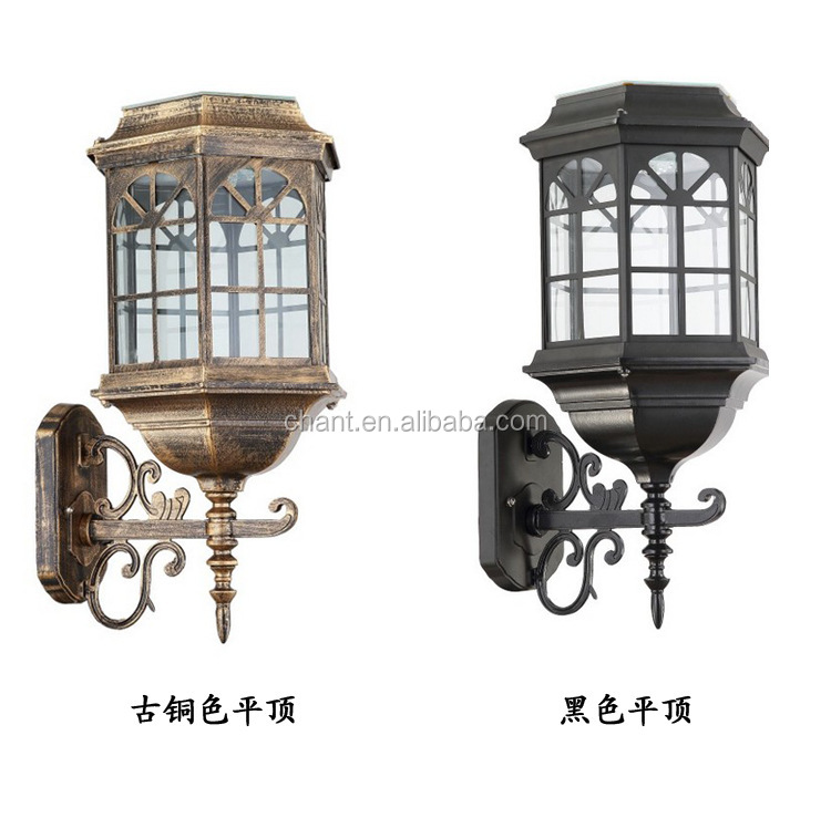Manufacturers selling solar wall lamp Home users exterior wall lamp Landscape garden wall lamp
