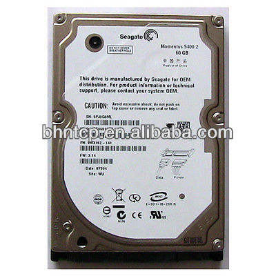 Used Branded Hard drives 60GB