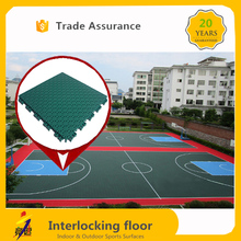 2017 hot sale new design indoor / outdoor basketball court flooring with factory price