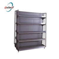 Store & Supermarket Supplies round head with metal mesh backboard