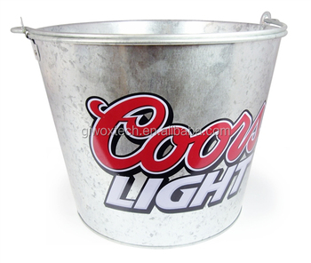 Manufacturer Galvanized Metal ICE Bucket for bottle