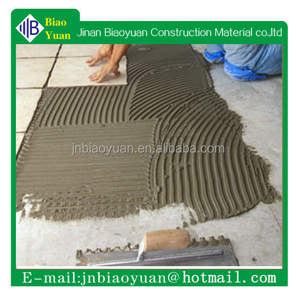 Tile cement based polymer modified tile adhesive