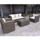 High Quality Wicker Outdoor Round Rattan Garden Furniture sofa set