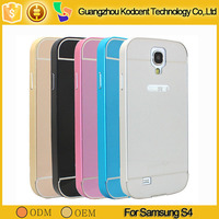 smartphones in a metal case, touch cell phone in metal case for samsung s4 i9500